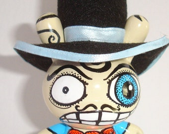 Made to Order Mad Hatter Custom Toy OOAK Kidrobot Dunny Vinyl Toy