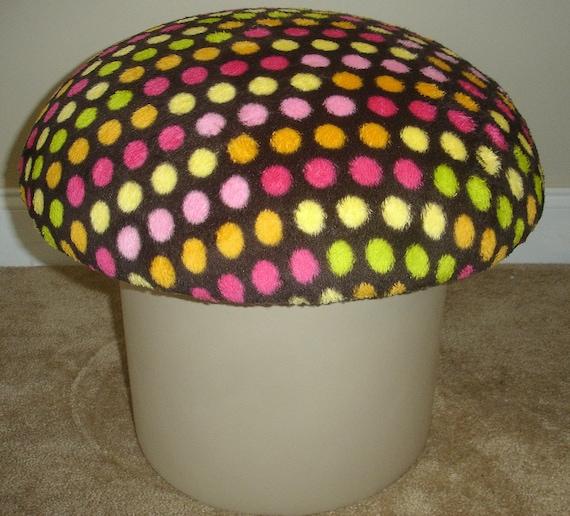 Polka Dot Mushroom Stool Seat Fantasy Furniture Magic Eames