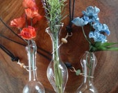 flower vase necklaces