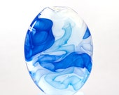 Genie's Bottle - handmade lampwork focal bead