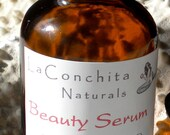 Beauty Serum Multi-Use Oil - All Natural Moisturizer, Conditioner, Make-up Remover - All Skin Types - Vegan - Oil Cleanser - SAMPLE Vial