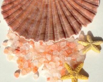 Pink Himalayan Salt - Gourmet Food Grade Salt - Luxurious Bath Salts, Pure, Unscented - 2 oz - On Sale