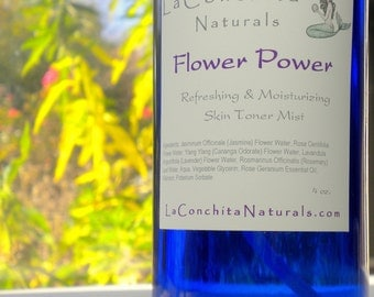 Hydrating Rosewater Toner Mist, All Natural, Oil-Free, Calming for All Skin Types - 4 oz  - On Sale