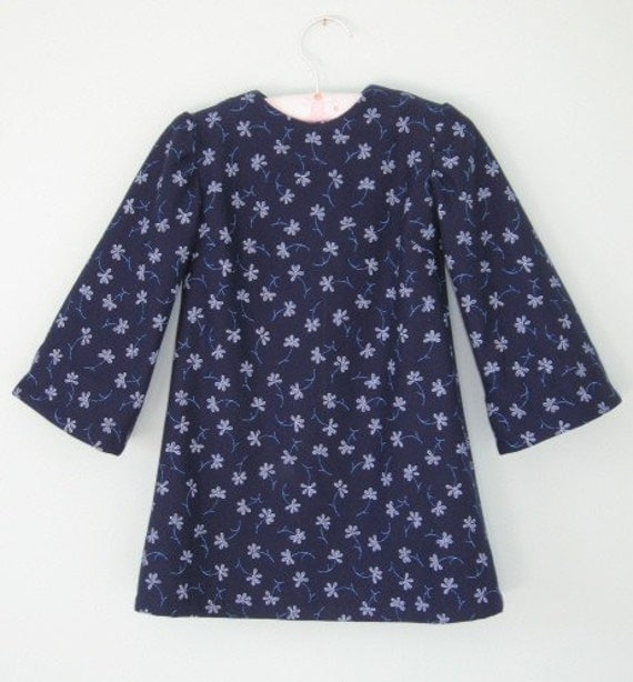 SALE PRICE Cotton jersey dress to suit a 2 year old,  reduced to 20 dollars