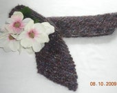 Knit Mohair-Blend Scarf