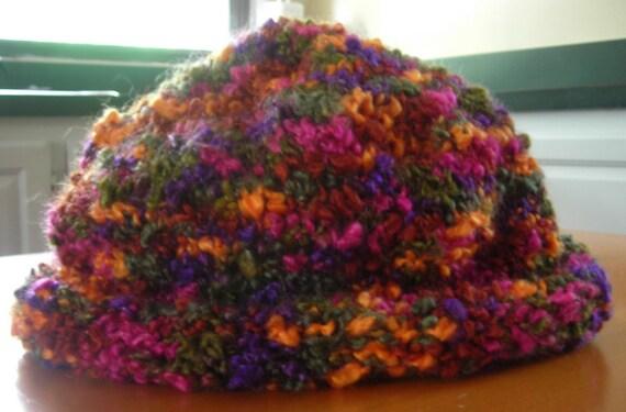 Knit Boucle Hat