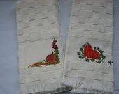 The Pumpkin Patch Kitchen Towels