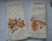 The Beauty of Fall Kitchen Towels