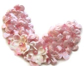 Pink Elegence Bib Necklace