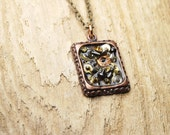 Steampunk Necklace Vintage Watch Parts - Gears Pendant Necklace - Unisex - Great for Mothers Day Fathers Day - Anniversaries - SALE