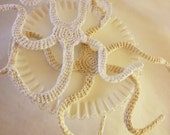 Set of 2 Decorative Crochet Amigurumi Sea Stars