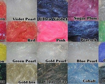 3 x Angelina Fibres 21 Colours to Choose From