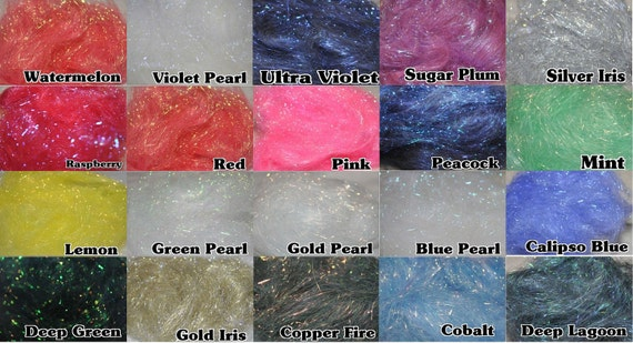Angelina Fibres 10g - 21 Colours to Choose From