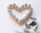 10 pcs Swarovski Rhinestone Crystal Silver Plated Bead Spacer Ball 10mm DIY Jewelry Craft Supplies AC009
