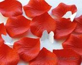 1000 pcs Red Silk Rose Petals Wedding Flower Favor Decoration RP019