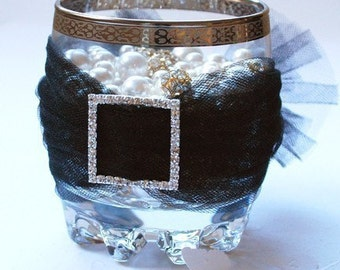 Rhinestone Buckle Wholesale Buckle Crystal Slider Silver Wedding Invitation Wedding Supplies Napkin Ring BK023 Square Buckle