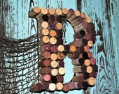 Wine cork letters...convo your selection