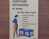 SALE - Furniture Refinishing at Home Book - 1967