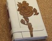 Vintage Roses - Handmade Leather Journal