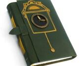 SALE - Forgotten Time - Leather Handmade Journal