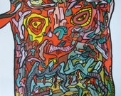 A Soul To Kiss.Size 11,7x16,5.By Vhilo