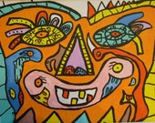 Tale of the happy tooth.Size 11.7x8,3.By Vhilo