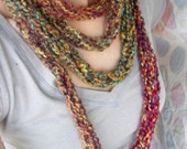 Knitted Necklace/Scarf