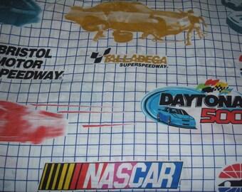 Nascar Speedway Curtain panel- Fabric