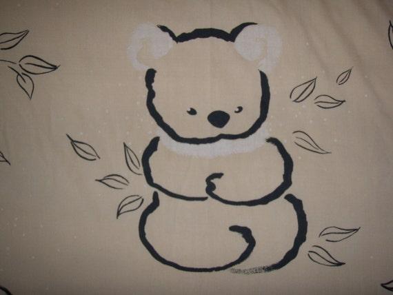 Cute Cuddly Koalas FULL FLAT Sheet - Reclaimed Bed Linens