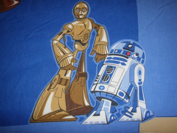 Reclaimed Star Wars Bed Sheet - Reclaimed Bed Linens