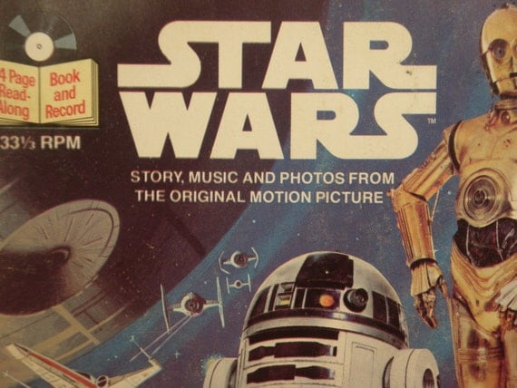 Star Wars Read-Along Book and Record