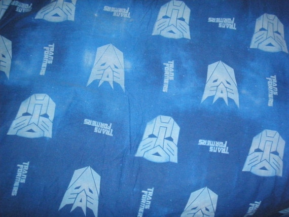 Transformers TWIN Fitted Sheet - Reclaimed Bed Linens