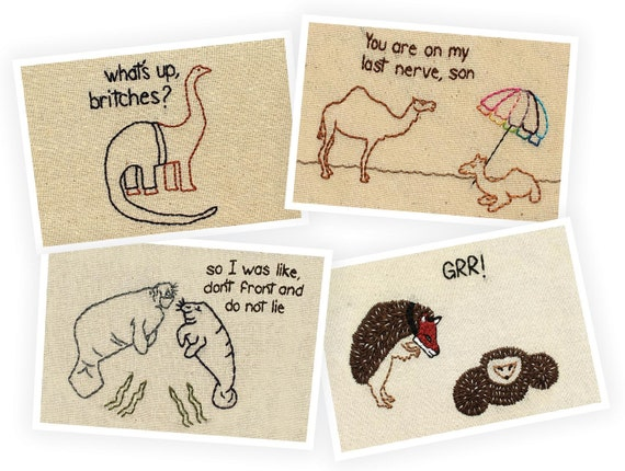Postcards - Pack of Four