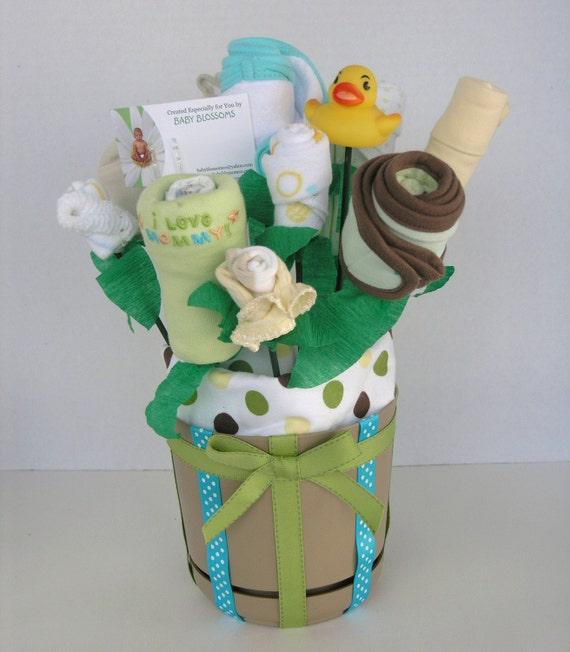 Baby Neutral Small Gift Blossom Bouquet