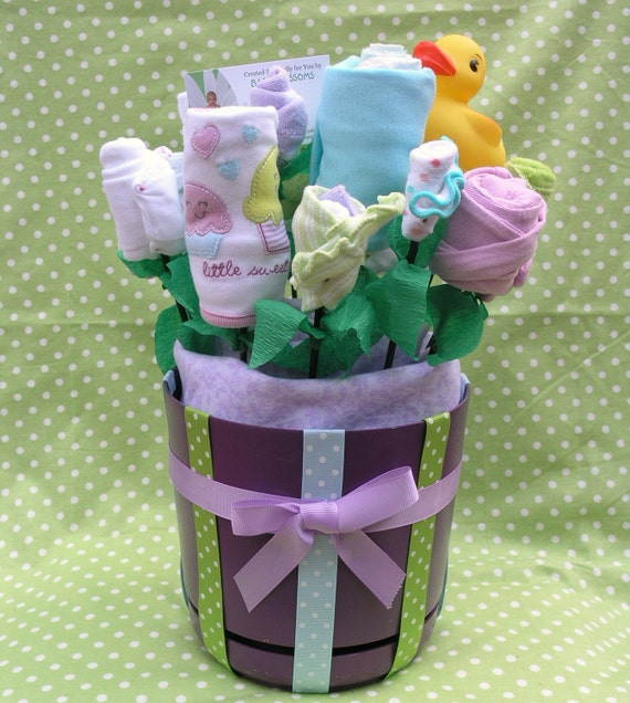 "Baby Bouquet Gift ""Little Cupcake"""