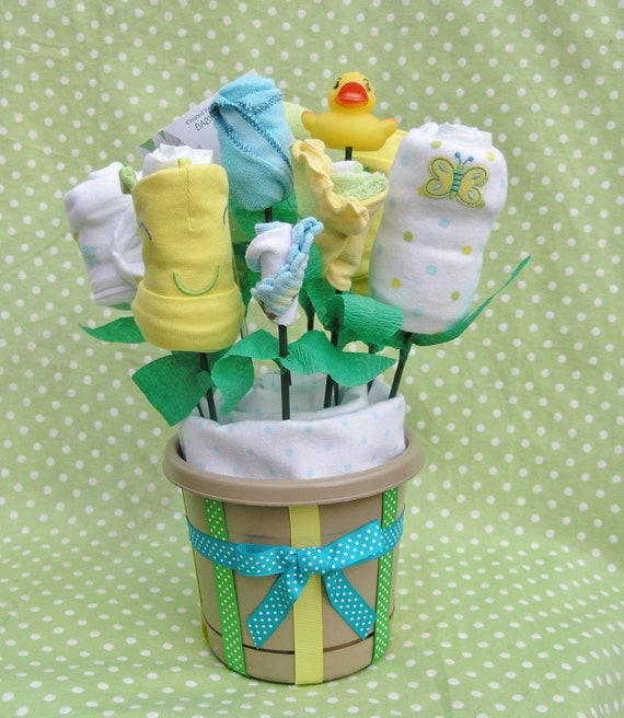 Baby Gift Bouquet New Zealand : Baby shower gift bouquet decoration