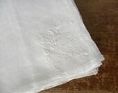 Embroidered Linen Napkins: Set of 6