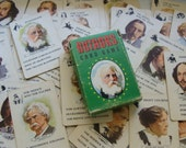 Vintage Authors Card Game .... 47 cards in total