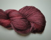 Ursula Merino and Silk Lace Weight - Mulled Wine