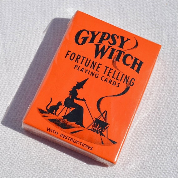 Vintage Halloween Tarot Cards - Gypsy Witch Deck in Sealed Pack