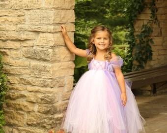 All Tangled Up in Rapunzel Tutu Dress