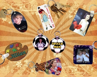 Key Tags - Personalized Full Color Imprint on Both Sides