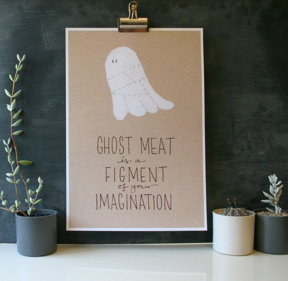 Ghost Meat Poster - LARGE
