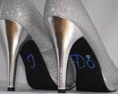 Rhinestone Crystal I Do Engagement Ring Shoe Sticker