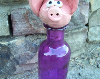 Little Piggy Wine Bottle Stopper
