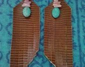Nizhoni Earrings (faux leather)