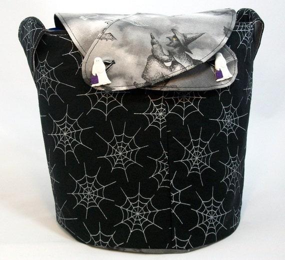 Medium Llayover Knitting Tote/Knitting, Spinning, Crochet Project Bag