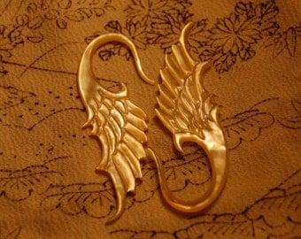 6 Gauge ear plugs Golden Flight