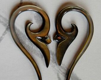 Ear Plug 12 Gauge Glossy Moss
