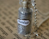 Stardust - Glass Vial Necklace